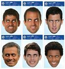 OFFICAL CHELSEA FC FOOTBALL PLAYER FACE MASK MASKS FUN FANCY DRESS GIFT XMAS NEW