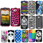 Mix Hard Cover Candy Case For HTC One VX Accessory