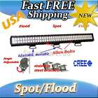 "8"",12"",18"",20"",24"",28"",30"",36"",44"" inch CREE LED Light Bar offroad SUV Jeep 4x4"
