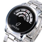 New JIALILEI Fashion Couple Luxury Stainless Steel Analog Quartz Wrist Watch