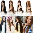 Long Straight Full Hair Cosplay Party Wig Wigs Sexy Women Lady Fashion
