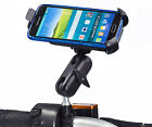 Motorcycle M10 Stud Ball Extended Bike Mount + One Holder for Samsung Galaxy S5