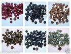 "Buttons 5/8""  Different Colors Black Berry Greens Blues Browns Tans"