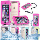 Waterproof Shockproof Back Clear Case Hard Cover Skin For apple iPhone 6s 4.7