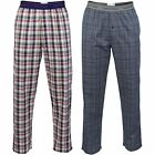 Mens Checked Pyjamas Bottoms/ Pants by Calvin Klein