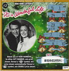 It's A Wonderful Life $2.00 Donna Reed/Jimmy Stewart NY losing lottery ticket