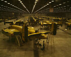 B-25 Mitchell bombers on North American Aviation assembly line 1942 Photo Print