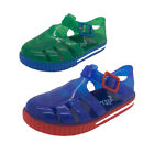 Boys Shoes Original Jellies Butterscotch Sandals Blue or Green Multi Size 5-11