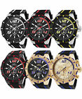 Invicta Men's S1  Rally Stainless Steel and Polyurethane Chronograph Watch