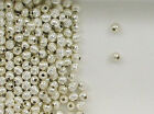 925 Sterling Silver 3mm Corrugated Round Spacer Beads, Choice of Lot Size-Price