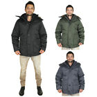 Canada Weather Gear Men's Faux Down Goose Parka Jacket Coat