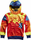 Fox Racing Imperial Youth Boys Zip Up Hoody Red