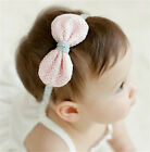 Kids Baby Girl Hair aAccessories Hairband Fancy Solid Color Infant Headband