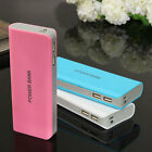 13000mAh LED Dual USB Power Bank Kit 18650 Battery Charger DIY For Cell Phone