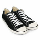 Converse Men's All Star Lean Ox Canvas Lace-Up Trainer Black / White