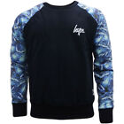 Just Hype Sweatshirt Crew Neck Jumper with Blue Arms