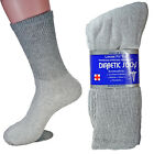 New 3, 6 12 Pairs Diabetic Crew Circulatory Socks Health Cotton Mens Cotton 9-15
