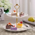 Stainless 2 / 3Tier steel Round Cupcake Stand Wedding Birthday Cake Display Tower