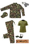Kids Pack 19 Army Camo Fancy Dress Children's Soldier Outfit (Shirt Pants Jacket