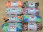 RED HEART SOFT BABY STEPS ARAN YARN/WOOL- 100g - 8 PRINT COLOURS - **UK SELLER**