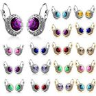 Charming Womens Fashion Crystal Rhinestone Dangle Earrings Ear Stud Hook Gift