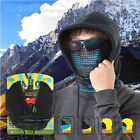 New Hiking Bike Bicycle Neck Warm Protect Face Mask Guard Fleece Hoodie Cap Hat