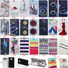 wallet Card Holder Leather Case Stand Cover for Samsung Alcatel Huawei Serie SF