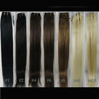 """Womens 36"""" Straight Long Real Human Hair Extensions Weft 100g More available"""