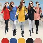 Women Batwing Long Sleeve Knitted Sweater Pullover Jumper Loose Knitwear Top