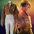 Attack on Titan Scouting Legion Khaki Jacket FREE P&P