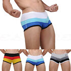 Men Fashion Underwear Male Sexy Briefs Patchwork New Underpants 3 Colors M L XL