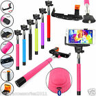 Monopod Selfie Stick Telescopic+Bluetooth Wireless Mobile Phone Holder