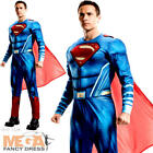 Muscle Superman Mens Fancy Dress Dawn of Justice Movie Superhero Adults Costume
