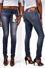 new! Levi's Jeans 711 Mid Rise Wild Ocean - Skinny Jeans blue