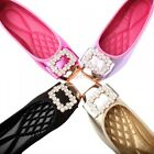 2016 New Ladies Ballet Flats Rhinestone Shiny Leather Formal Shoes Sexy Comfort