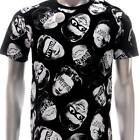 m322b Minute Mirth T-shirt M L Tattoo Skull LIMITED EDITION w/ BOX NIB Gangster