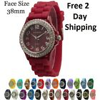 Closeout Lot of Silicone Band CZ Fashion Watches Low Price Free 2 day Shipping