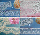 "Ivory Lace Trim 5-24 Yards Vintage 1-1/4"" Scalloped 012HV Your Choice"
