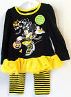 Minnie Mouse Don't Be Scared Child Toddler Outfit 3T 5T NIP