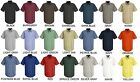 Lot of 6 Short Sleeve Uniform WORK SHIRTS U Choose Size  Color Red Kap SP24