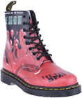 Dr. Martens DEMENTED ARE GO Pascal 8-Eye Kult STIEFEL Boots Rockabilly