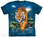 3D TIGER ADULT T-SHIRT THE MOUNTAIN