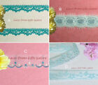 """Turquoise Lace Trim 5-32 Yds Vintage 3/8""""-1"""" Scalloped 029AV Your Choice"""