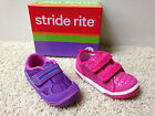 NEW STRIDE RITE GIRLS CASUAL VELCRO SHOES Pick Size 5 or 6 & Color NWOB