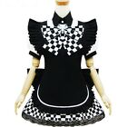 [wamami]Adult Anime Nyaruko Black Plaid Cosplay Dress Women Costume Clothing
