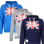 Lambretta Mens Union Jack OTH Hoodie Hooded Top Sweat Embroidered Logo Mod