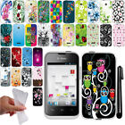 For Huawei Prism 2 U8686 Inspira H867G NEW TPU SILICONE Rubber Case Cover + Pen