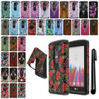 For LG Leon C40 Destiny Power Anti Shock HYBRID Silicone HARD Case Cover + Pen