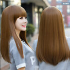 Vogue Women Sexy Lady Long Straight Heat Resistant Hair Synthetic Hair Cosplay