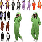 Cartoon Animal Onesie Pajama Lovely Lovers Winter Unisex Adult Sleepwear Cosplay